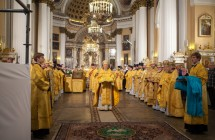 День перенесения мощей святого Александра Невского отметили в Санкт-Петербурге