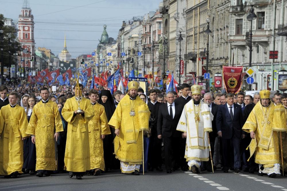 12 сентября 2016 года, в день перенесения мощей святого благоверного князя Александра Невского, в Санкт-Петербурге состоялся Кре